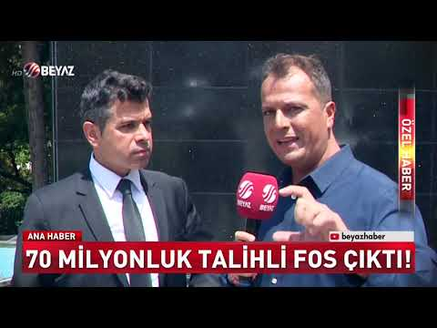 70 MİLYONLUK TALİHLİ 'FOS' ÇIKTI