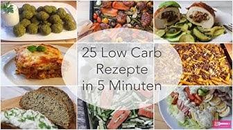 25 Low Carb Rezepte in 5 Minuten I Sandras Kochblog I Low Carb I einfache Rezepte I Anfänger Rezepte