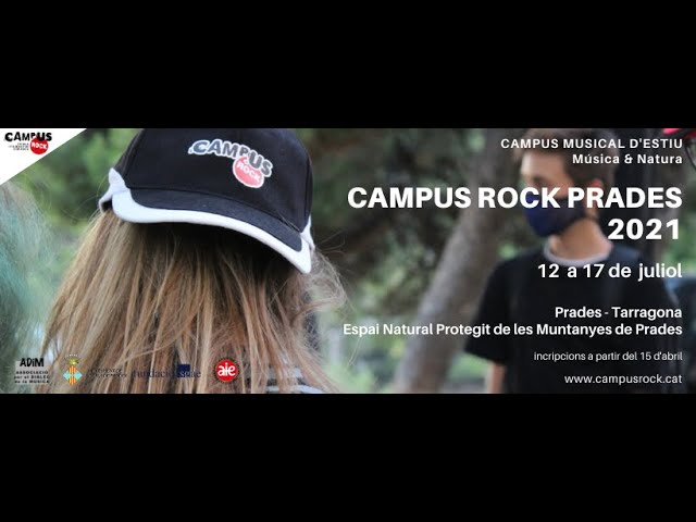 De Montblanc a Prades - CAMPUS ROCK PRADES 2021