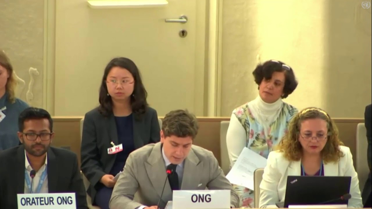 ACLJ Makes Presentation at the U.N. Human Rights Council for Imprisoned Christian Pastor John Cao
