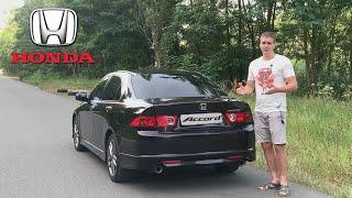 Обзор легенды! Honda Accord 2.4 Type-S