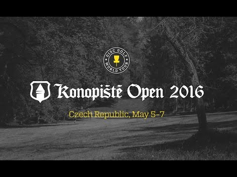 Disc Golf World Tour 2016 Konopiste Open teaser