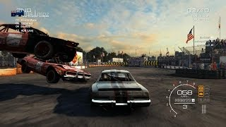 Grid Autosport PC Multiplayer: Demolition Derby Gameplay