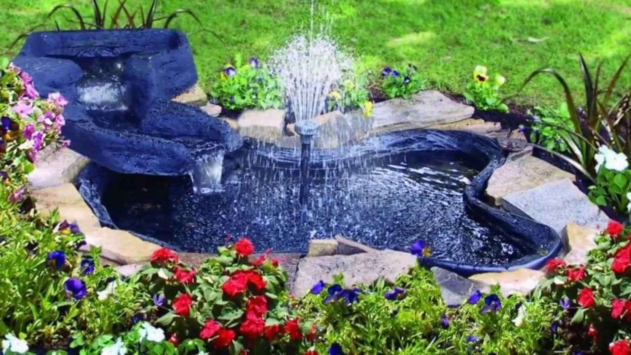 Large And Small Backyard Pond Ideas Youtube
