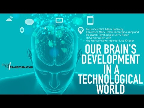 CHM Live │ Our Brain's Development in a Technological World