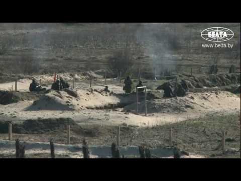 Совместные учения десантников Беларуси и России