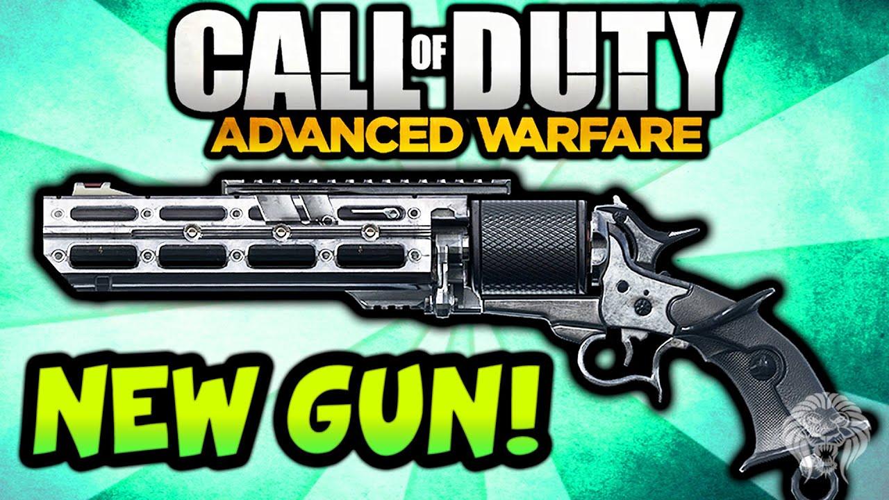 Advanced Warfare: M1 IRONS REVOLVER! New Free DLC Weapon ...