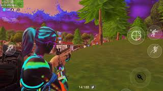 Fortnite Mobile (WIN WITH EVERY SKIN) partie 1 (NiteLite)