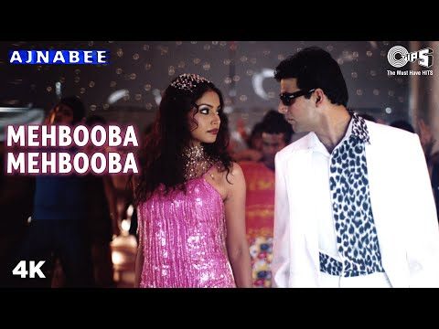 Mehbooba Mehbooba - Ajnabee | Akshay Kumar & Bipasha Basu | Adnan Sami & Sunidhi Chauhan
