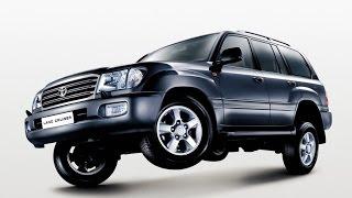 Замена лобового стекла на Toyota Land Cruiser 100 в Казани.