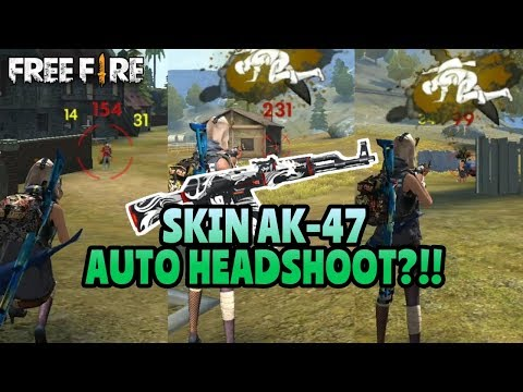 HEADSHOOT TERUS!! KEHEBATAN SKIN TERBARU AK-47 - GARENA FREE FIRE BATTLEGROUND
