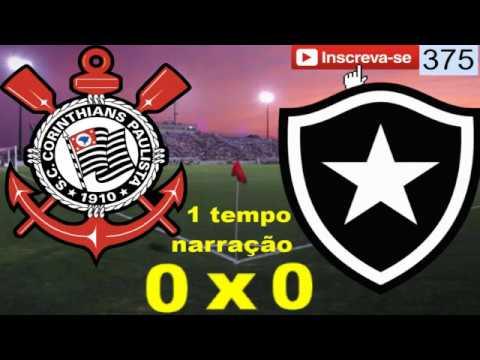 Corinthians X Botafogo Ao Vivo Brasileirão 2017 Youtube