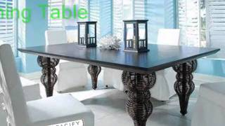 Designer Edge Square Dining Table, Designer Dining Tables