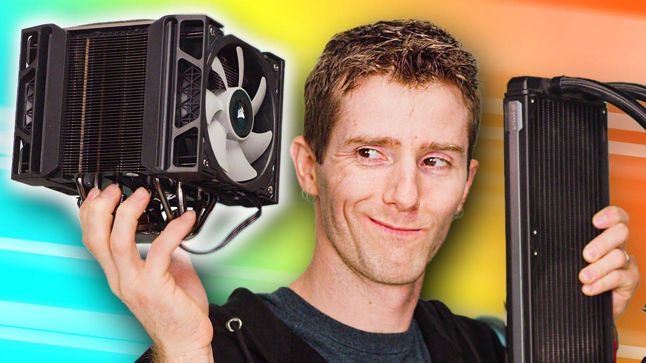 Incluso Corsair sabe que la refrigeración por aire es mejor - análisis A500 + vídeo