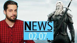 The Witcher auf Netflix: So sehen Geralt, Ciri und Yen aus - News
