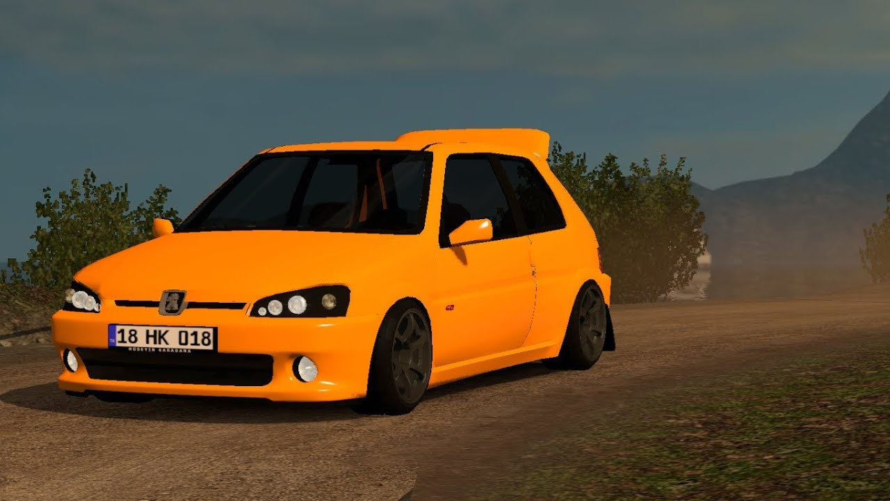 1 32 Euro Truck Simulator 2 Peugeot 106 Gti Mods Youtube