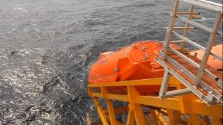 Norsafe GES45 lifeboats installed on Grane field