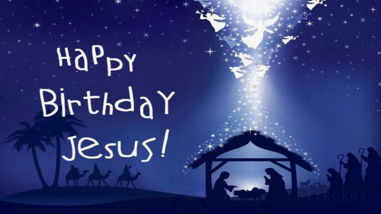 Happy Birthday Jesus Piano Youtube