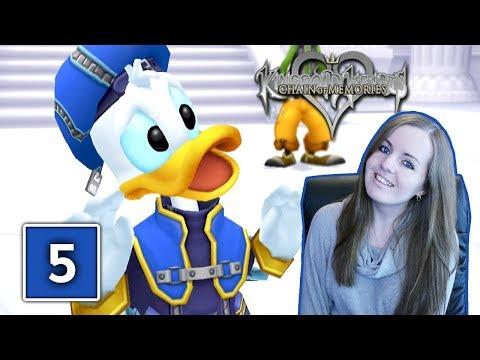 WONDERLAND | Kingdom Hearts Chain Of Memories Gameplay Walkthrough Part 5