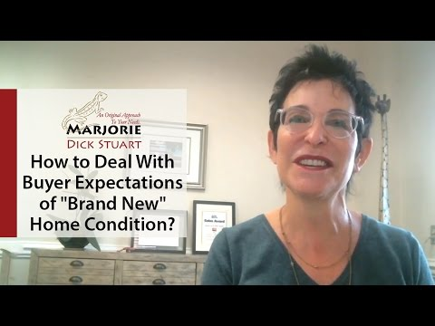 """Cleveland Park Real Estate: How to Deal With Buyer Expectations of """"Brand New"""" Home Condition?"""