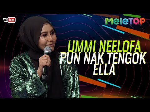 Ummi Neelofa pun nak pergi tengok konsert Ella  Kapten Azhar  MeleTOP  Nabil & Neelofa