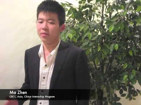 Meet Ma Zhen - Shanghai Internship | Business | CRCC Asia