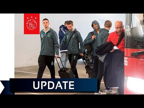 Ajacieden in Duitsland voor kraker tegen Schalke