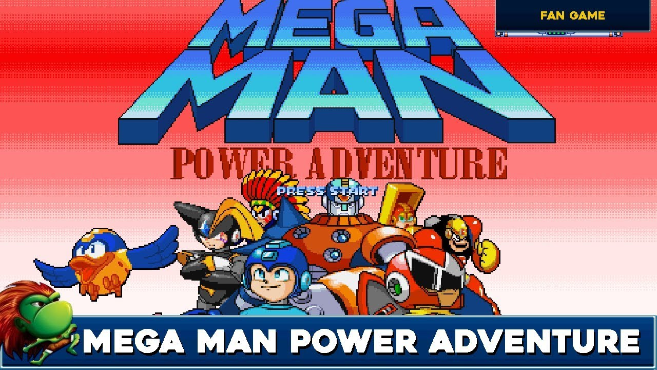 Mega Man Power Adventure - OpenBOR