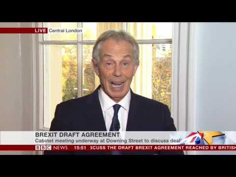Tony Blair Interview on BREXIT (( Full Conversation ))    14th November 2018