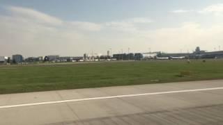 ヴァーツラフ・ハヴェル・プラハ国際空港 離陸動画