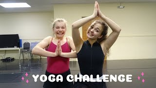 Dancers Attempt Extreme Yoga Challenge **GONE WRONG**