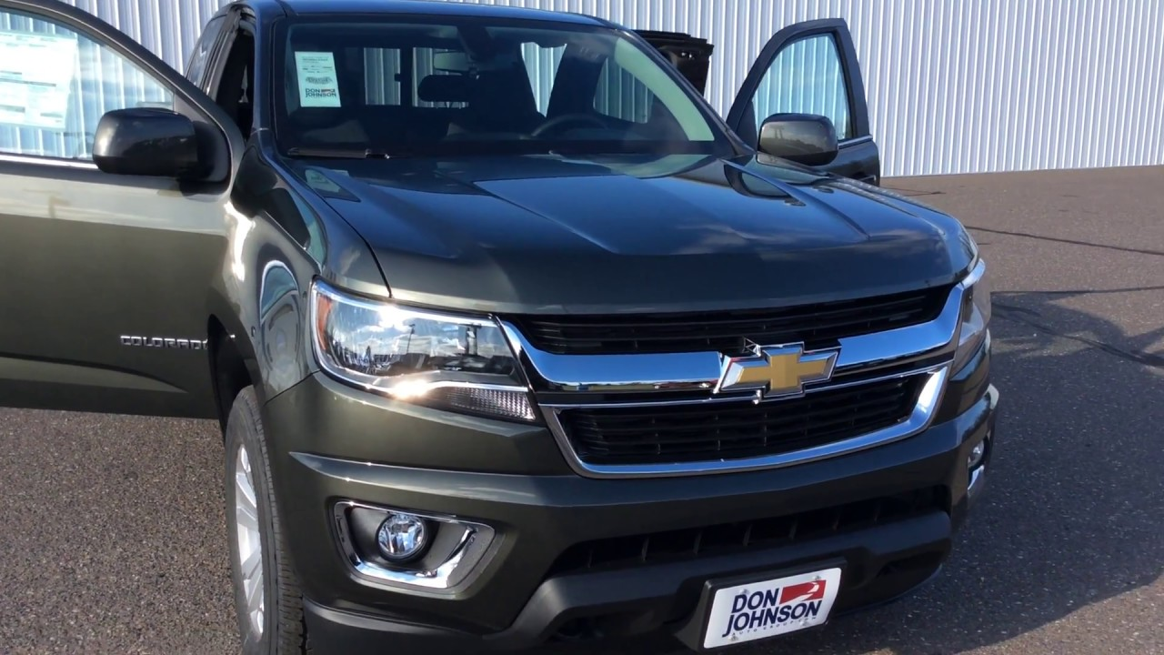 2018 chevrolet colorado extended cab deepwood green for Don johnson hayward motors