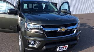 2018 Chevrolet Colorado Extended Cab Deepwood Green Metallic LT (H18041)