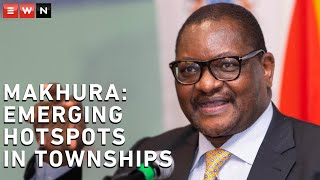 Gauteng Premier David Makhura announced that there are emerging hotspots in the townships of the province.  #CoronavirusSA #Lockdown #GautengCOVID19