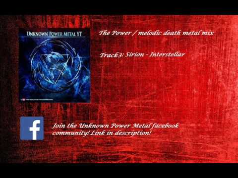 Power Metal / Melodic Death Metal Fusions Mix 2017
