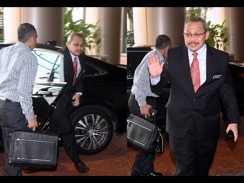 Ex-MACC chief Dzulkifli Ahmad checks in at AGC