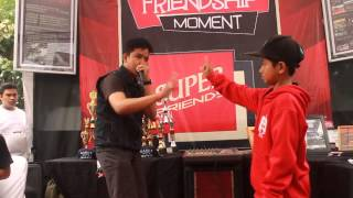 BOBBY GRT vs SAYUTI GRT Friendship Moment 2014 Beatbox Battle Chionship Battle Big 8