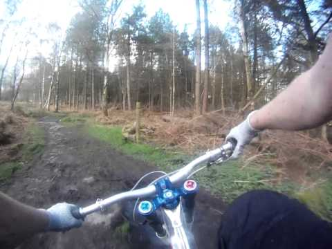 first ride on DH bike after fractured shoulder