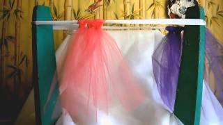Юбка-пачка из фатина. 3 способа завязать полоски. Tutu skirt: 3 ways to tie strips(Специально для сайта
