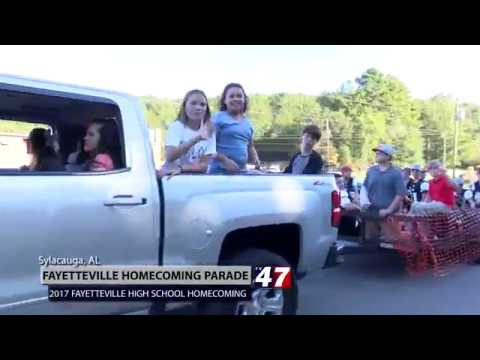 Fayetteville School Homecoming Parade 2017