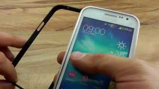 обзор: Металлический бампер для Samsung Galaxy Win GT-I8552. ОБЗОР
