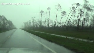 Hurricane Michael Live Stream, Destin To Panama City Florida - 10/10/2018