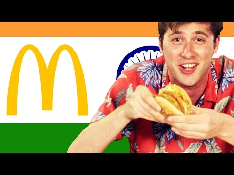 Thumbnail: Americans Try Indian McDonald's