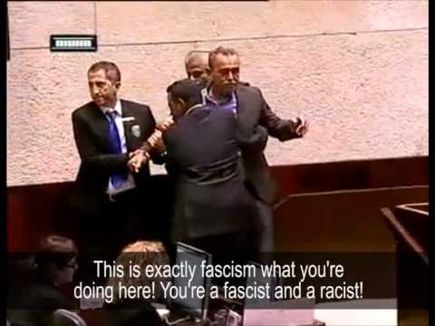 Knesset member Zahalka calls Feiglin a fascist and kicked out of the plenum
