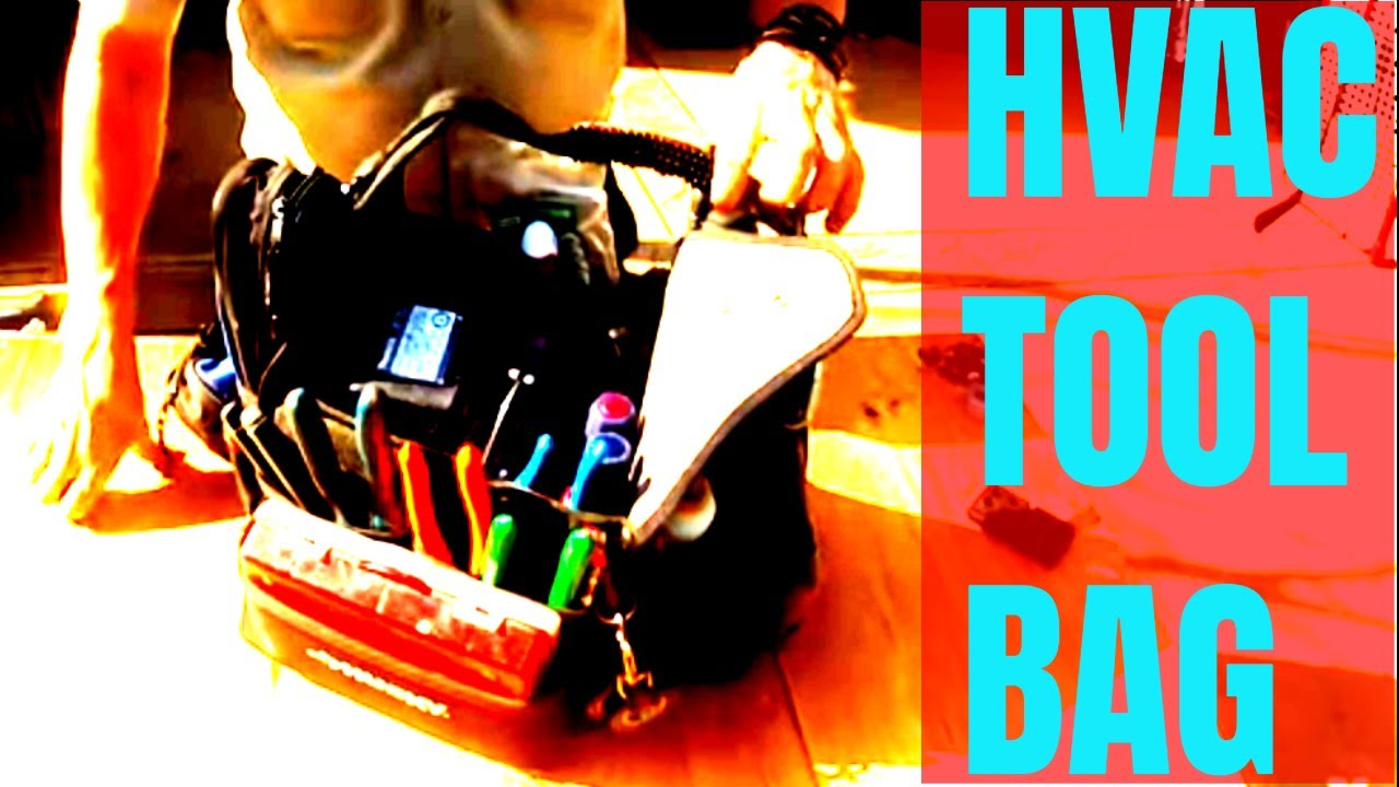 Beginner Apprentice HVAC Tools My HVAC Tool Bag YouTube