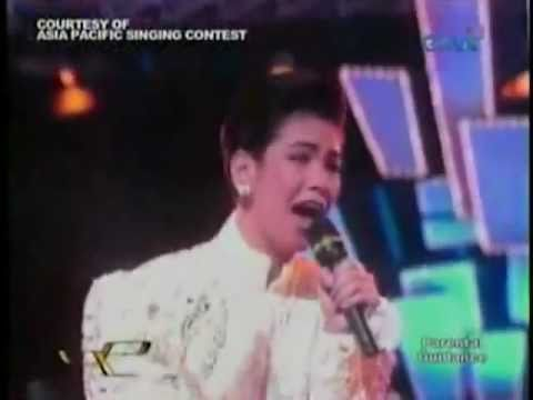 Asia Pacific Singing Contest - And I Am Telling You