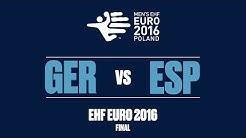 RE-LIVE   Germany vs. Spain   Final   Men's EHF EURO 2016