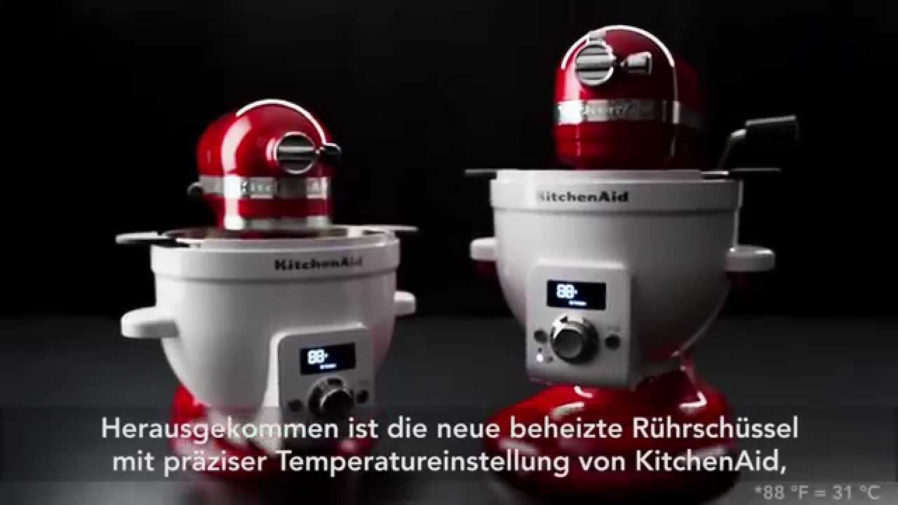 kitchenaid artisan zubeh r beheizte r hrsch ssel youtube. Black Bedroom Furniture Sets. Home Design Ideas