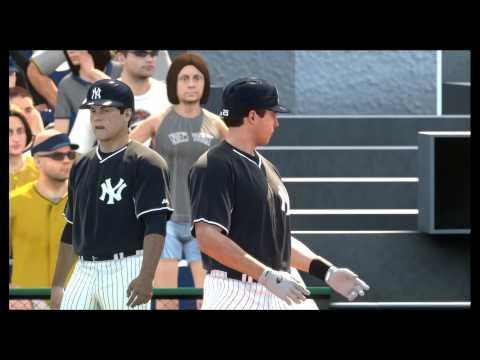 MLB14 THE SHOW PS4 MY 1ST HOMERUN YANKEES VS PIRATES