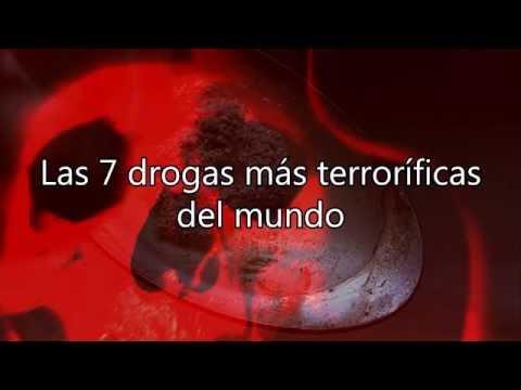 Las 7 drogas más terroríficas del mundo